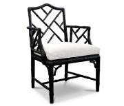 jonathan adler black bamboo chair