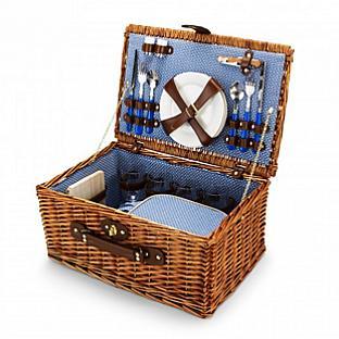 C Wonder Wicker Picnic Basket