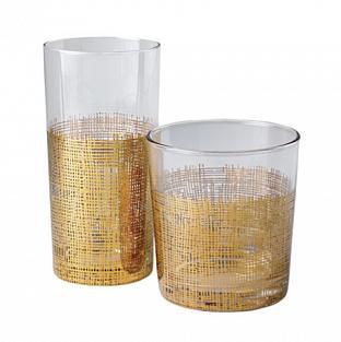 Crosshatch Glassware