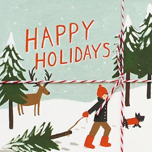 Rifle Paper Co. Holiday Postcards