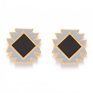 Navajo inspired earrings.