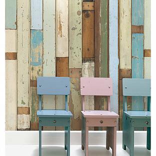 sarah richardson finds faux bois piet hein wallpaper