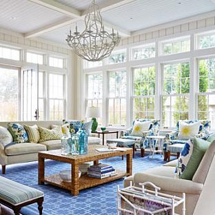 Beach House, Designed By Sarah Richardson Design: Natalie Hodgins U0026amp;  Kate Stuart