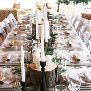 Kelsey's Woodland Tablescape