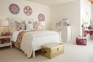 sarah richardson sarah house 4 girl's bedroom pink