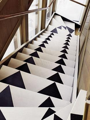 Painted Stairs Inspiration