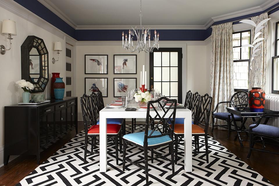sarah richardson sarah 101 black white bright chairs black bamboo chairs