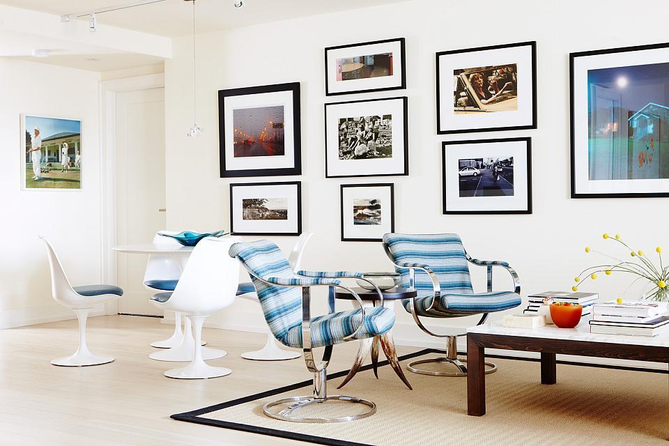 Sarah Richardson Vintage Modern Condo Living Room Dining