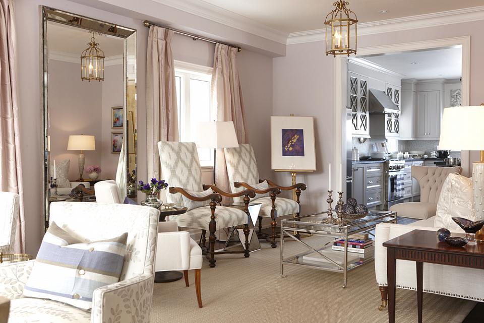 Sarah Richardson Sarah House 4 Living Room Pink Lavender Part 18