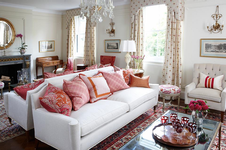 Charming Sarah Richardson London Flat Living Room