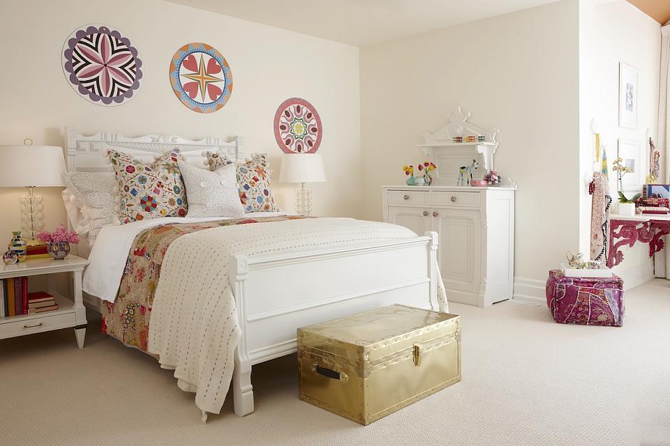 Girl 39 s bedroom sarah richardson design for Sarah richardson bedroom designs