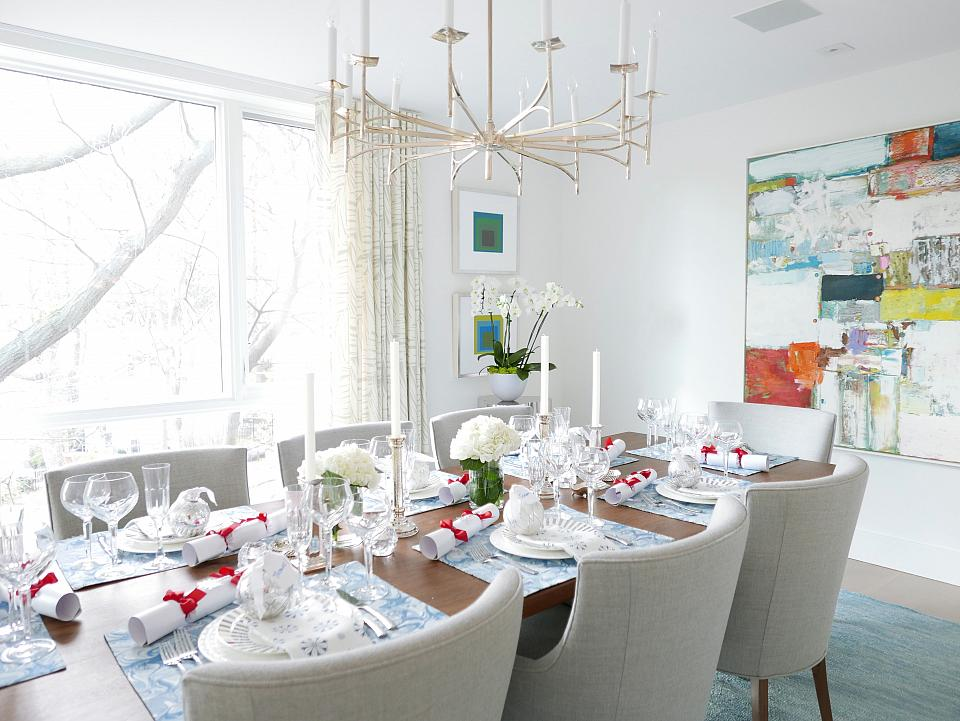 Sarah's Holiday Tablescape