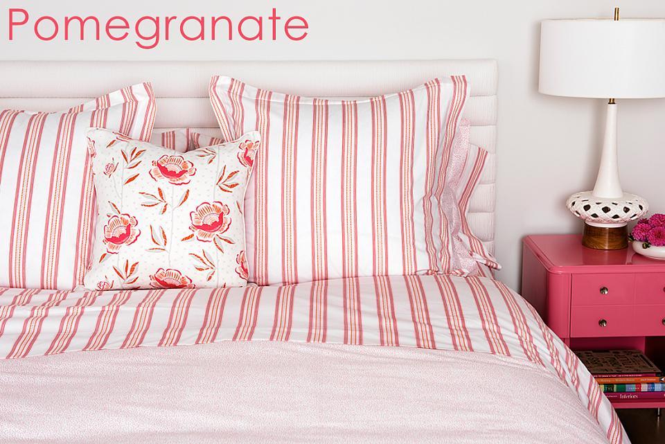 Sarah Richardson Pomegranate Bedding Ensemble