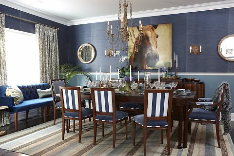 sarah richardson sarah's house 4 blue dining room