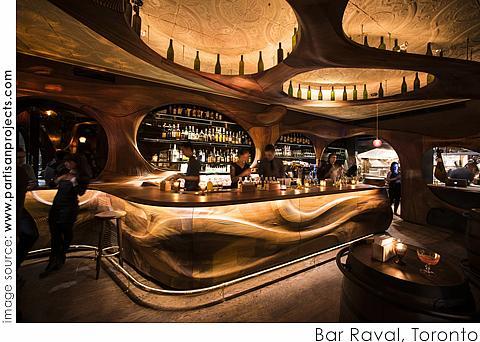 Bar Raval, Designed by Partisans, Alexander Josephson