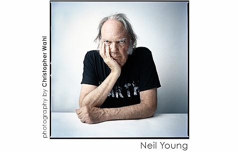 Neil Young by Christopher Wahl