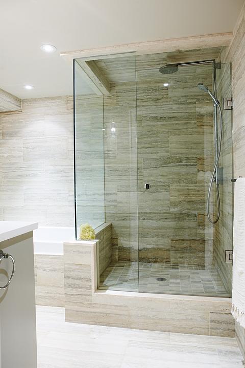 Sarah Richardson Vintage Modern Condo Master Bathroom