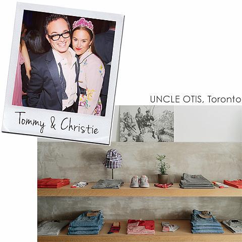 Tommy & Christie Smythe, Uncle Otis Toronto Store