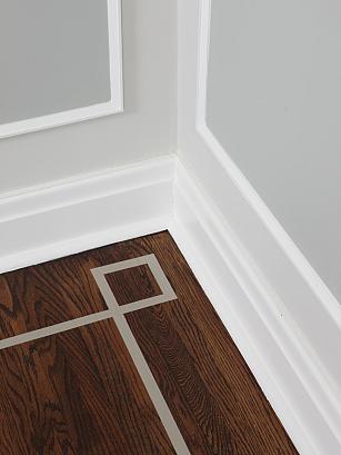 sarah richardson sarah 101 dining room floor inlay detail