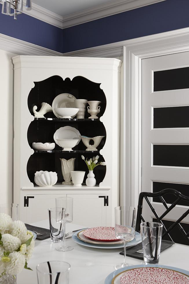 sarah richardson sarah 101 black white bright chairs black bamboo chairs bookcase shelves painted black