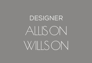 Allison Willson, designer