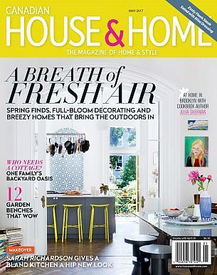 Sarah Richardson Design, House & Home May 2017