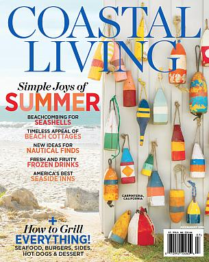Coastal Living July/August 2016