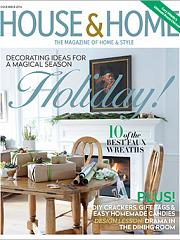 House & Home Magazine, December 2016