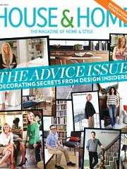 August 2013 cover of House & Home