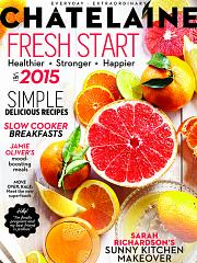 January 2015 issue of Chatelaine