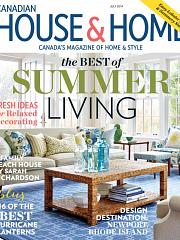 July 2014 Canadian House & Home