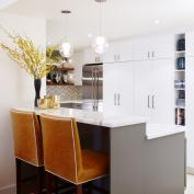 sarah richardson vintage modern condo kitchen