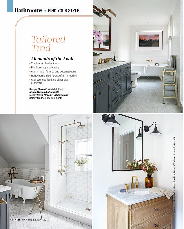 Sarah Richardson Design, House & Home Kitchens + Baths Special Issue, May 2017