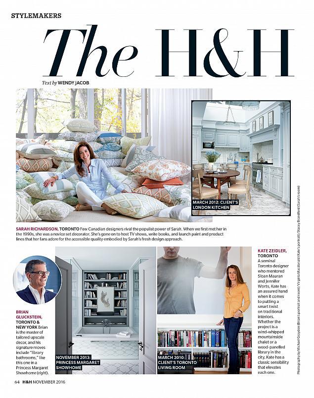 House & Home Magazine, November 2016